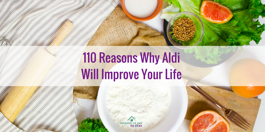 110 Reasons Why Aldi Will Improve Your Life