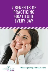 7 benefits of practicing gratitude every day