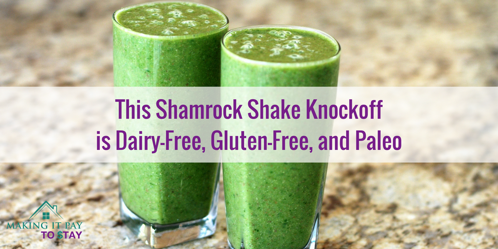 This Shamrock Shake Knockoff is Dairy-Free, Gluten-Free, and Paleo