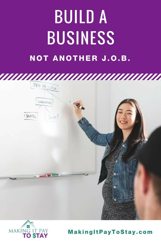 Build a business not another JOB