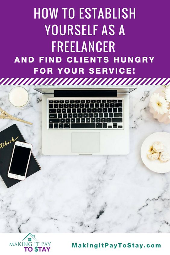 How to establish yourself as a freelance and find clients hungry for your service