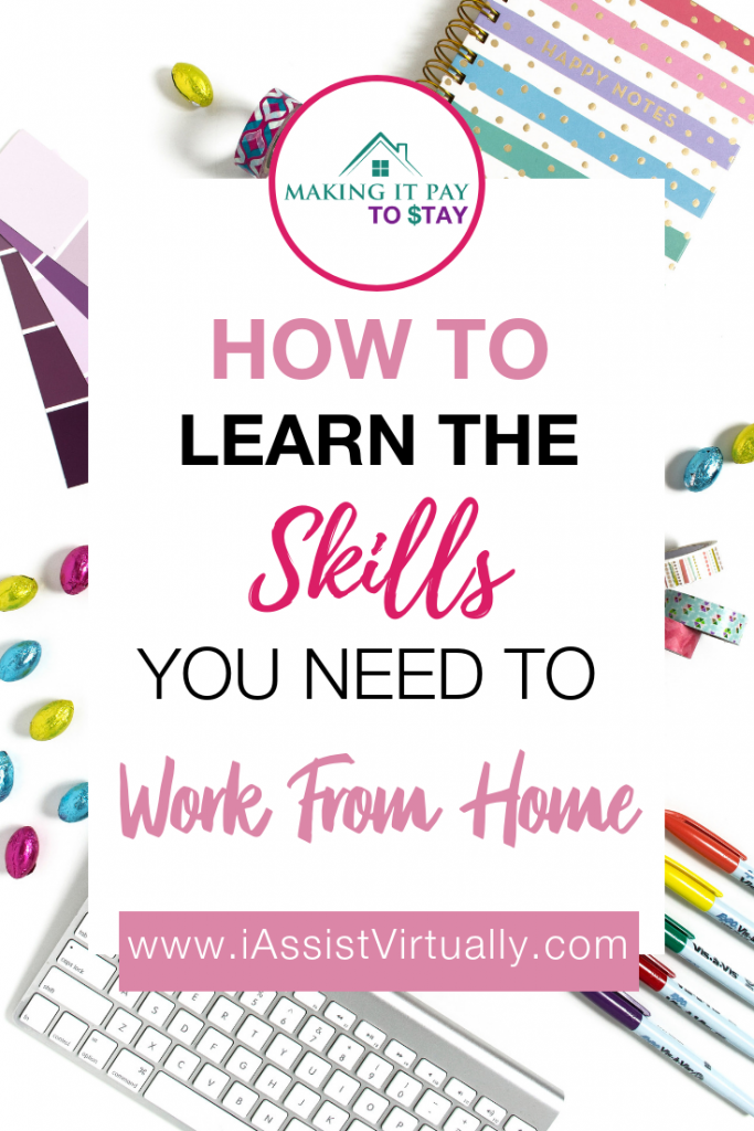 How to learn the skills you need to work from home Pinterest