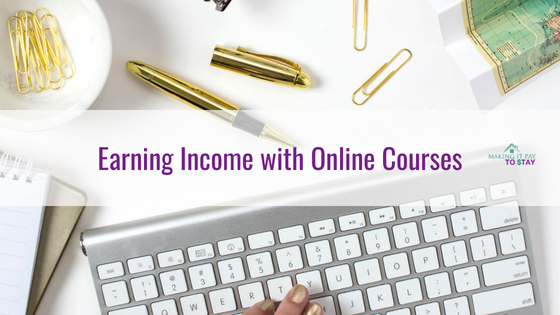 Earning Income with Online Courses