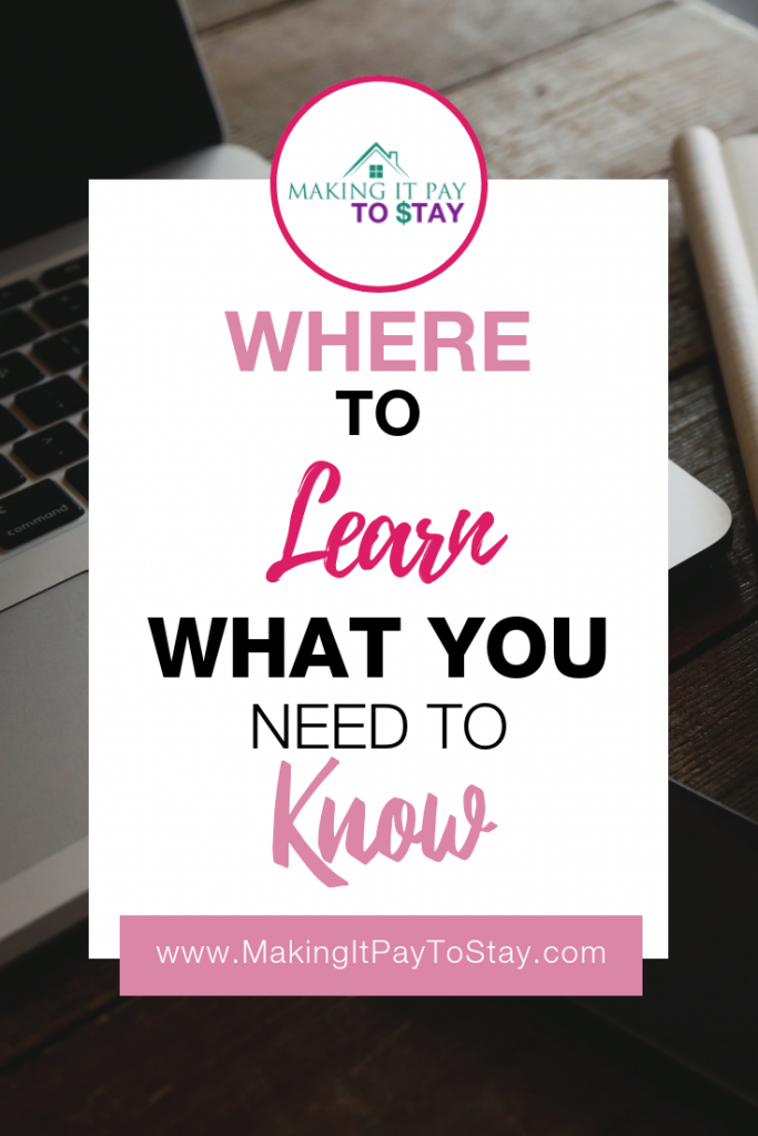 Where to Learn What You Need to Know