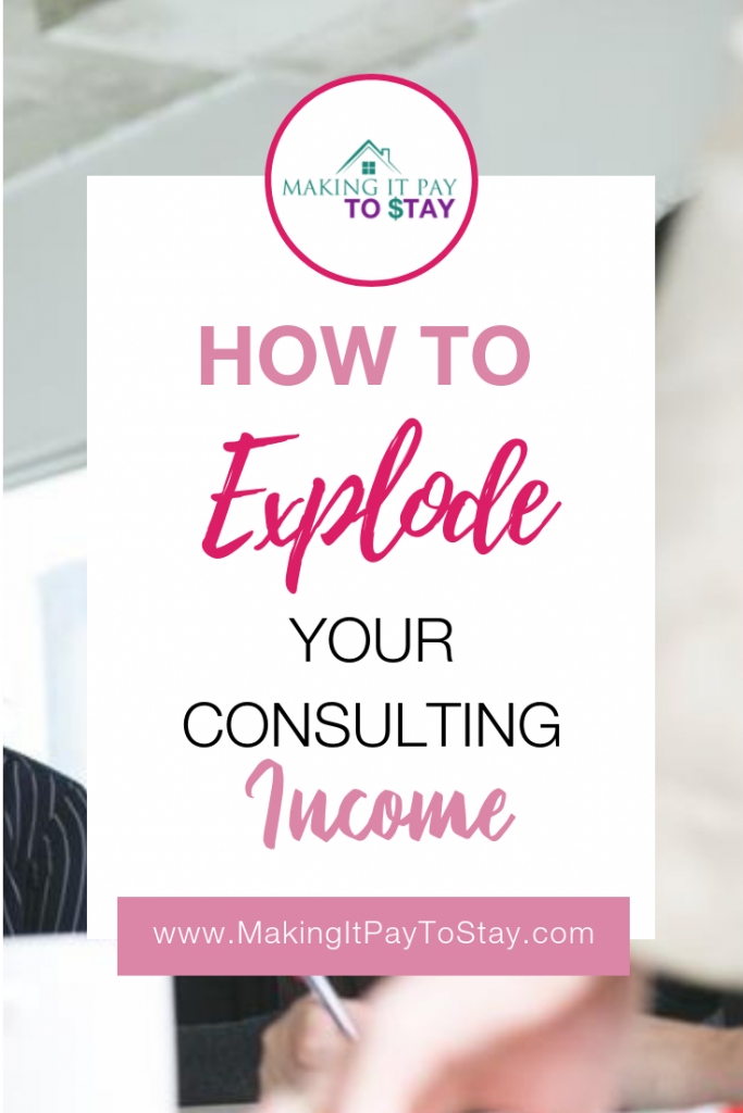 Pinterest - How to explode your consulting income