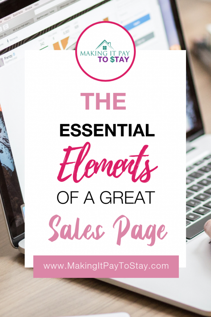 Pinterest The Essential Elements of a Great Sales Page