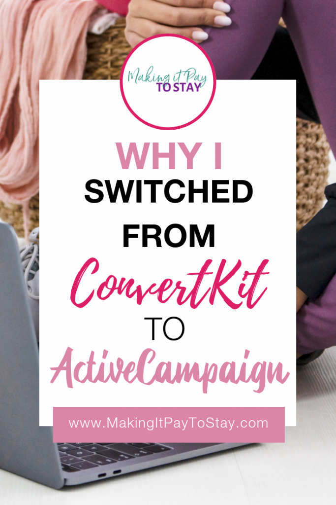 Why I Switched from ConvertKit to ActiveCampaign PIN