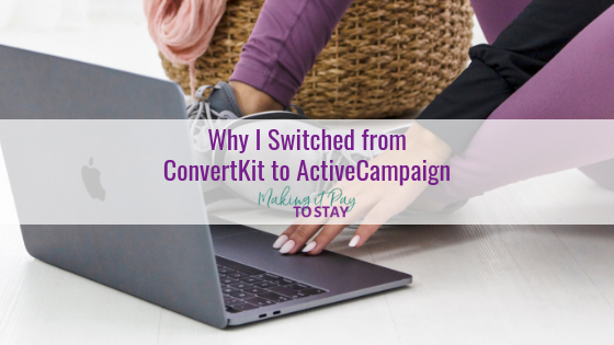Why I Switched from ConvertKit to ActiveCampaign