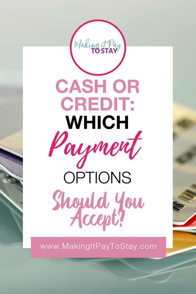 Pinterest Cash or Credit: Which Payment Options Should You Accept?