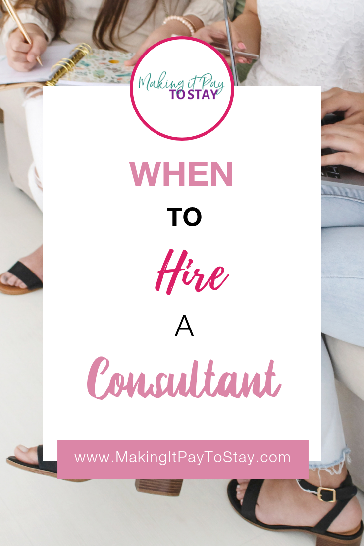 Pinterest When to Hire a Consultant