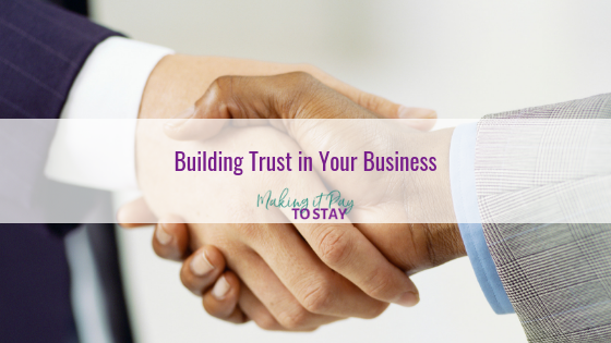 Building Trust in Your Business