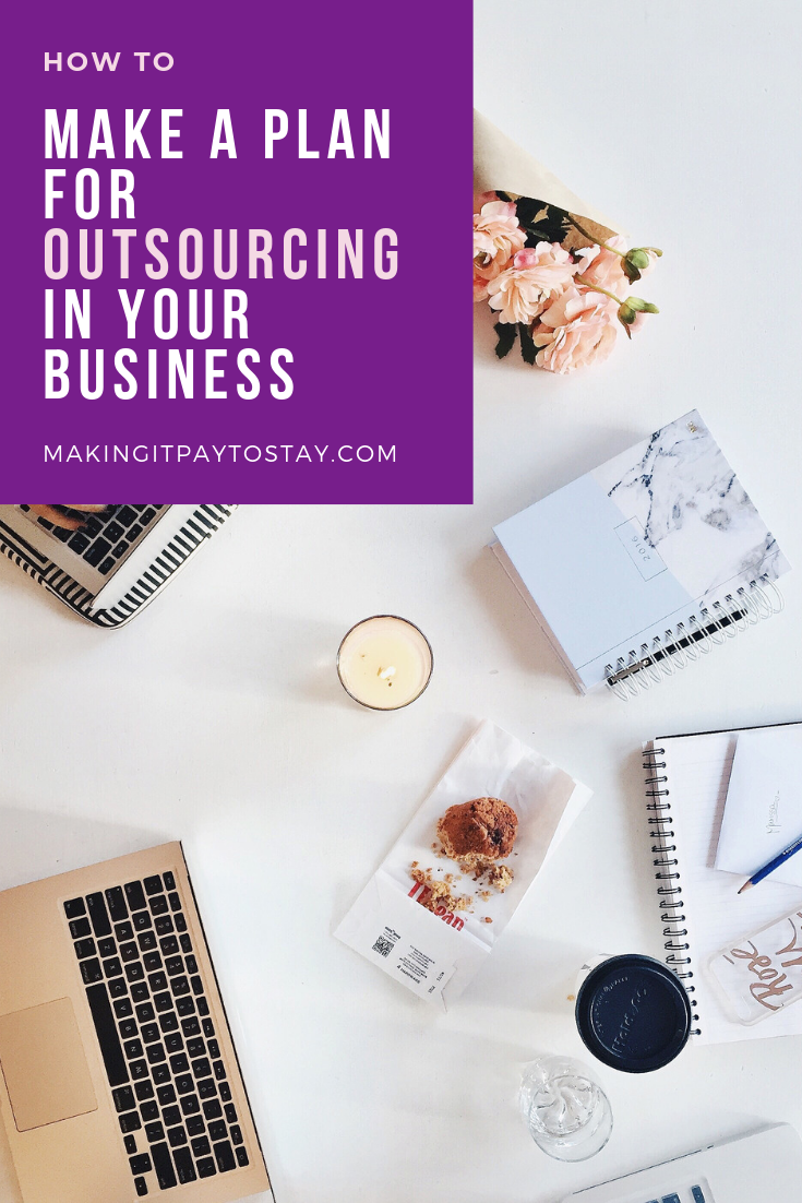 Pinterest Making It Pay To Stay Blog How to Make a Plan for Outsourcing In Your Business