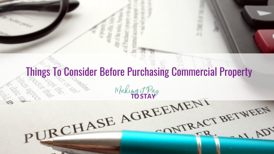 Things To Consider Before Purchasing Commercial Property