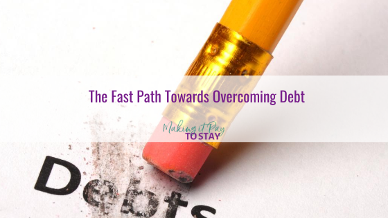 The Fast Path Towards Overcoming Debt