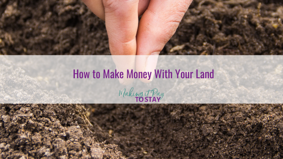 How to Make Money With Your Land