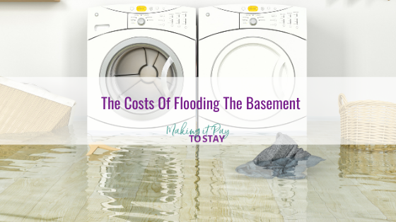 The Costs Of Flooding The Basement
