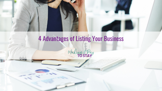 4 Advantages of Listing Your Business